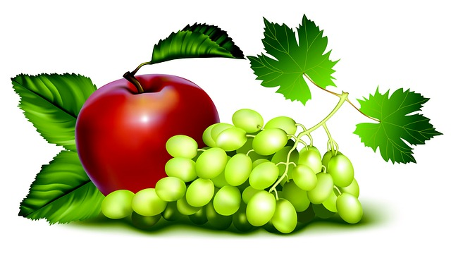 Les pommes et les raisons sont les meilleurs alliés de la monodiète