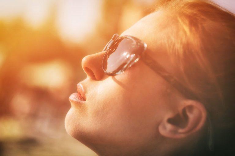 Préparer son visage au soleil