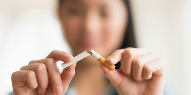 Stop cigarette fumer