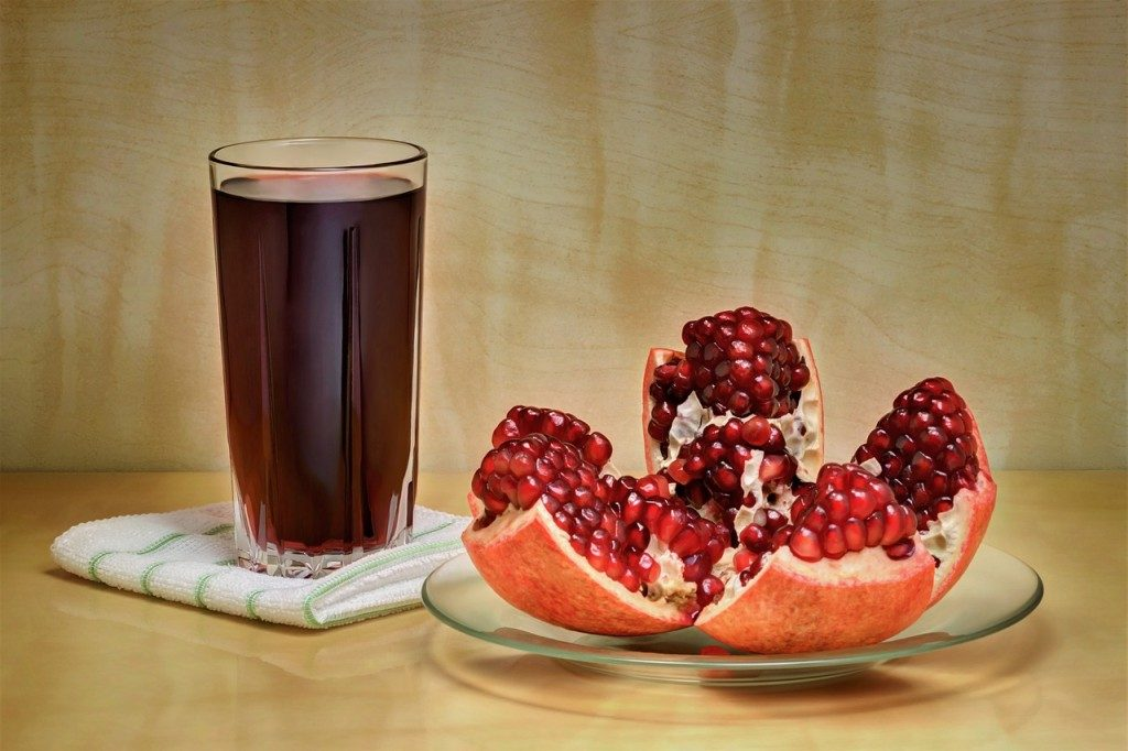 Les bienfaits de la Grenade, en jus et en fruit